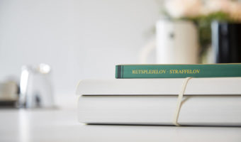Retsplejelov straffelov bog advokat strafferet Fredericia