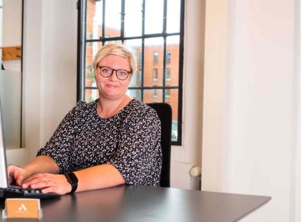 Gitte Bigum advokatsekretær inkasso advokatgruppen Horsens